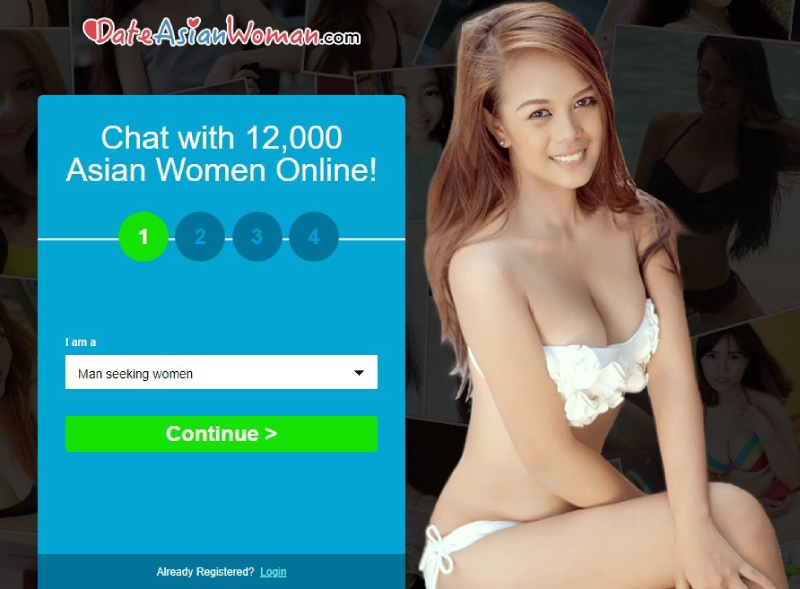 DateAsianWoman: review main page